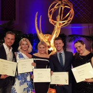 """Feeling very grateful to be nominated for an Emmy with these amazing people."" - August 30, 2015 Courtesy derekhough IG"